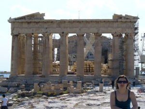 En el Partenón, qué desilusión