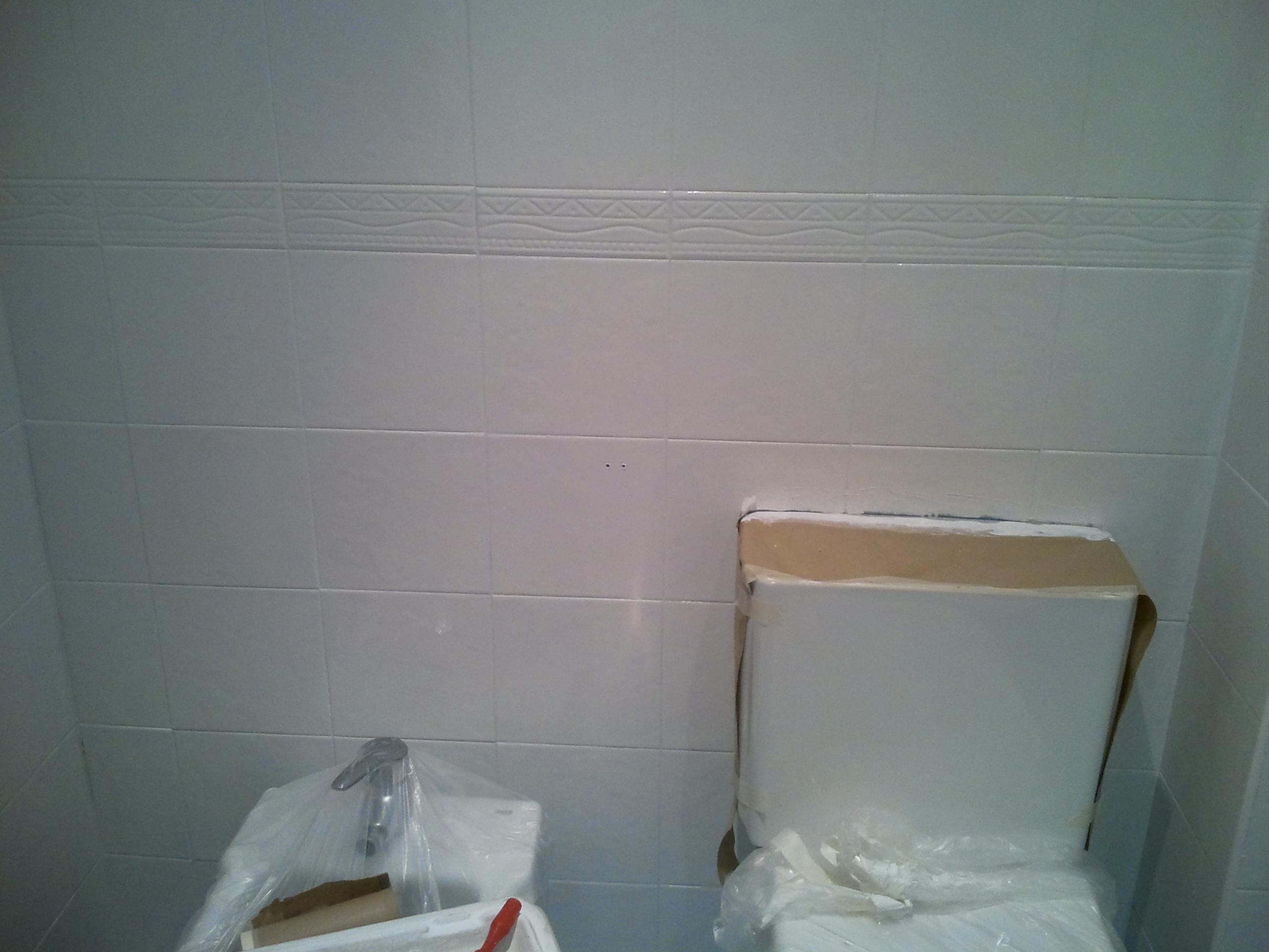 Reformar Azulejos Baño Sin Obras:Obras en casa XI : Cómo reformar baño sin obra