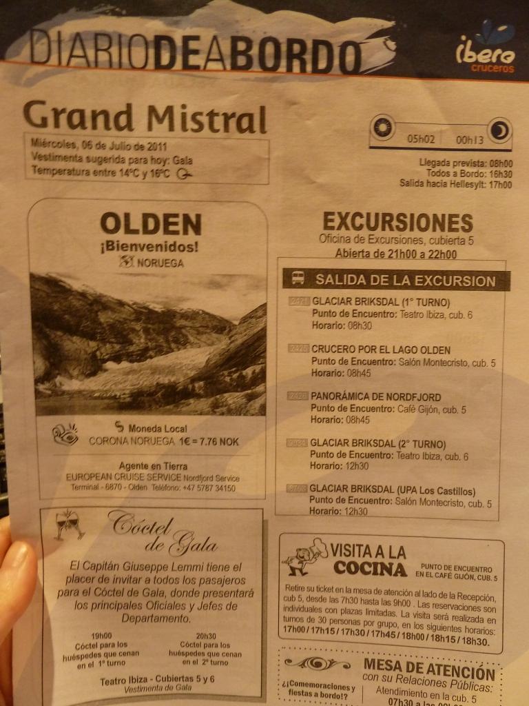 Diario de a Bordo Olden