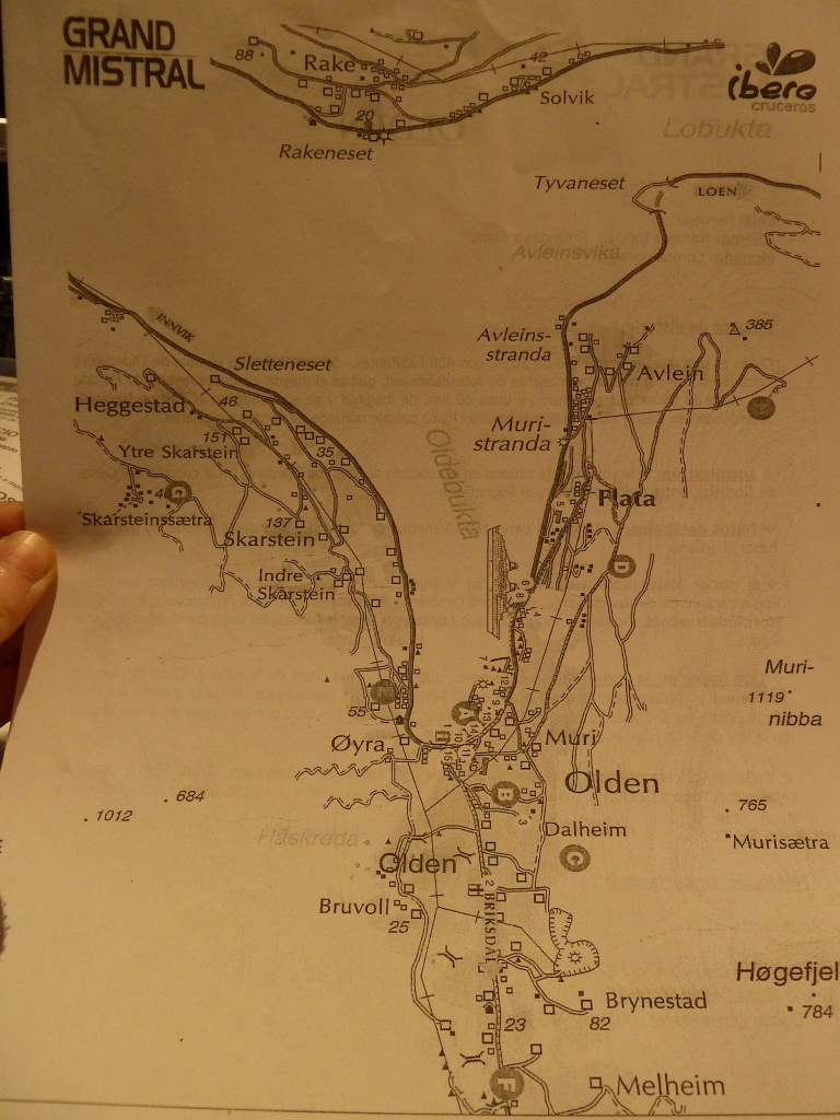 Olden Mapa