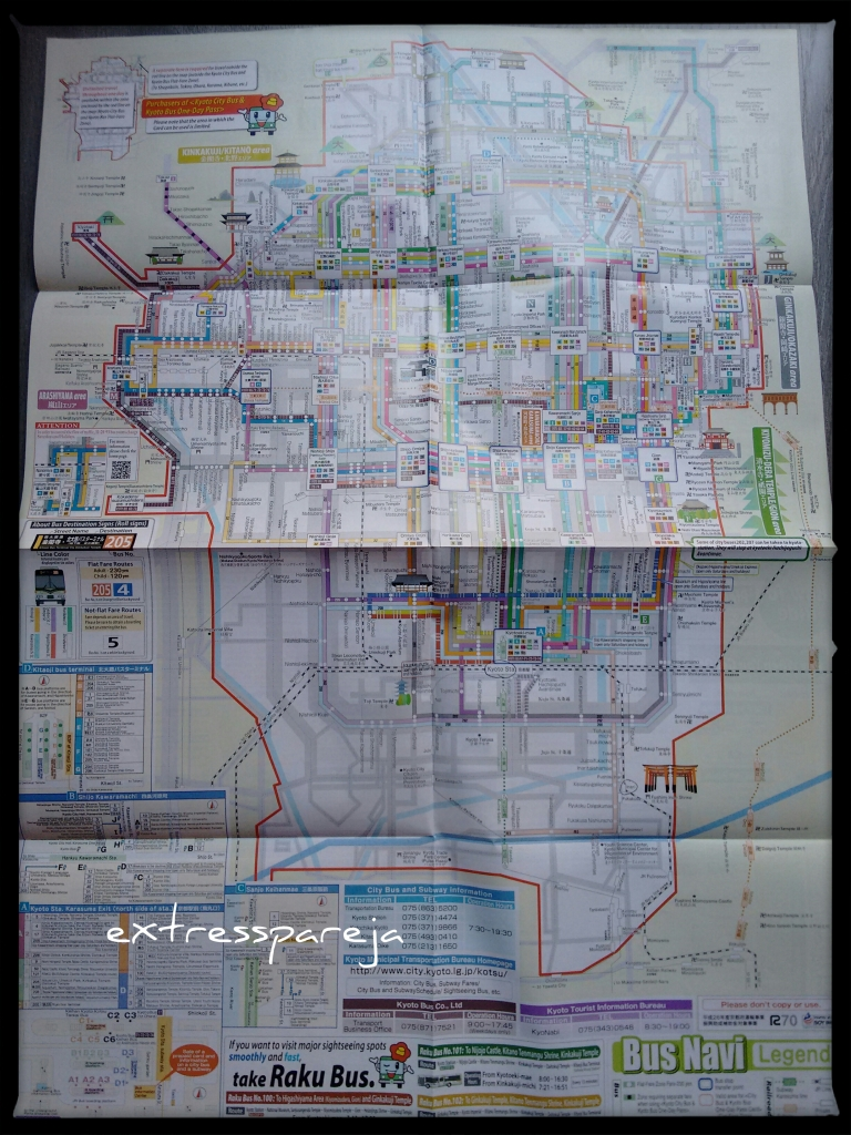 Líneas buses Kioto