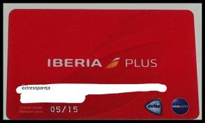 Tarjeta Iberia