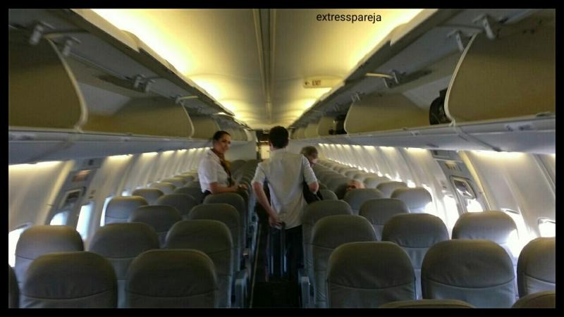 Distribución avión