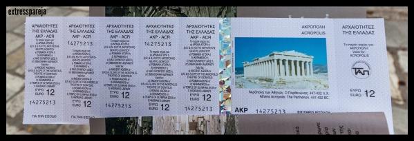 Entradas Atenas